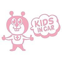 imoninn KIDS in car ステッカー 【シンプル版】 No.66 グッドさん (ピンク色)