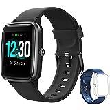Yishark Smartwatch Orologio Fitness Donna Uomo Smart Watch Android iOS Contapassi...