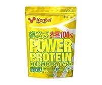 【Kentai】パワープロテイン(デリシャス)バナナ風味 1kg ×10個セット