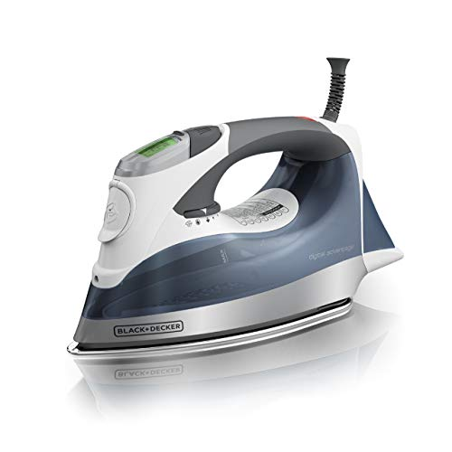 BLACK+DECKER Digital Advantage Professional Steam Iron, D2530 (Renewed)