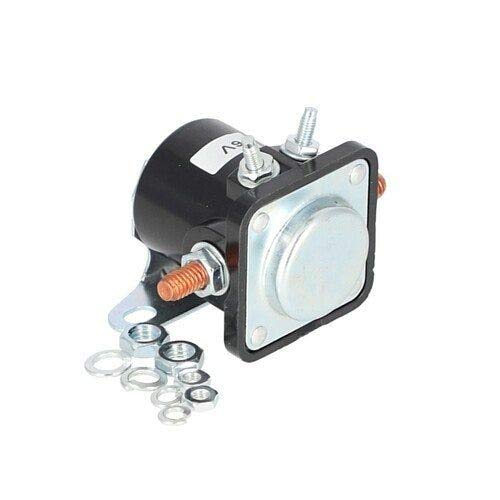 Starter Solenoid - Delco Style - 6 Volt - 4 Terminal Compatible with Ford 851 861 900 651 4030 4110 NAA 620 701 801 800 4130 621 2120 2110 700 4140 650 841 4000 611 641 600 2000 631 630 601 501 901