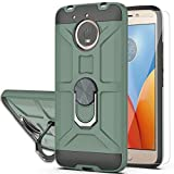 Moto E4 Plus Case (US Version) with HD Screen Protector