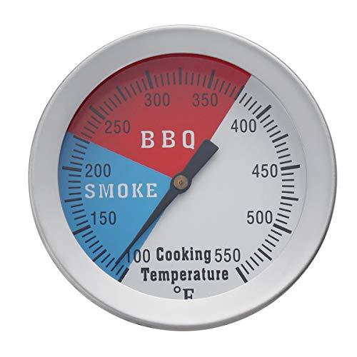 ILS – 100 – 550 °F Temperatur Thermometer Kaliber BBQ Grill Smoker Brunnen Thermostat