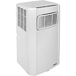 785 Watt air conditioner Cooling capacity 7000BTU, Range up to(m²): 16 3 modes; cooling, dehumidifying and fan Noise level 65dB Max air flow 320m3/, suitable for spaces up to 60m3 0.5L water reservoir, moving moisture from the air @ 0.8L/h & adjustab...