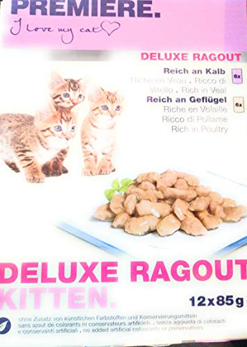 Premiere Kittenfutter Deluxe Ragout 12x85 Gramm