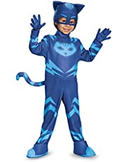 Catboy Deluxe Toddler PJ Masks Costume, Small/2T
