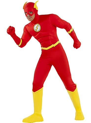 Funidelia | Disfraz de Flash Oficial para Hombre Talla XL ▶ Superhéroes,...