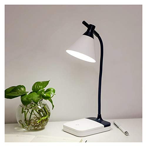 JUNQIAOMY Lámpara de Mesa Creative USB Recargable LED Escritorio Plegable lámpara de Ojo de Ojo táctil Tacto Regulable Lectura lámpara lámpara led luz 3 Modos de Color (Body Color : A)
