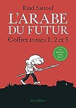 Coffret L'Arabe du Futur 3 tomes - Tome 1, tome 2, tome 3 de Riad Sattouf