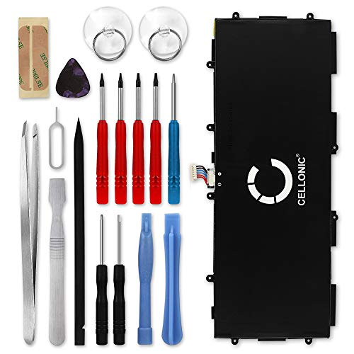 Batteria T8220E compatibile con Samsung Galaxy Note 10.1 2014   Tab Pro 10.1 (SM-P600   SM-P605   SM-T520   SM-T525) Affidabile batteria di ricambio da 6600mAh + Set di strumento Sostituzione