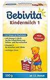 Bebivita Milchnahrung, Kindermilch-mit Omega 3, 4er Pack (4 x 500 g) -