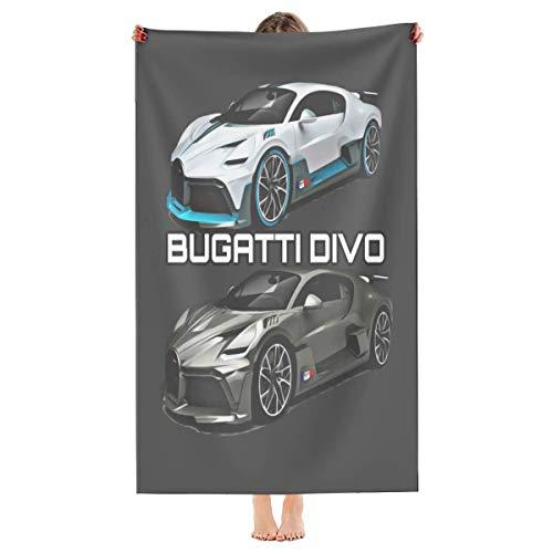 Best Bugatti Divo Microfiber Beach Towel-Quick Dry Super Absorbent Towels Blanket for Travel Pool Swimming Bath Camping Yoga Girls Women Men Adults