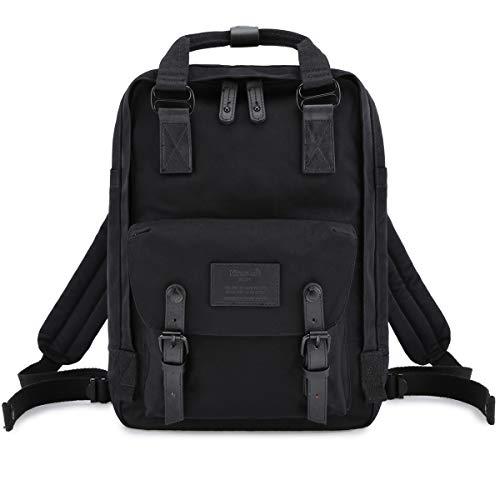 """Himawari Backpack Laptop Backpack College Backpack School Bag 14.9"""" Travel Backpack for Women,Fits 13-inch Laptop (Noble Black)"""