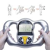 Dr.Lefran Monitor electrónico Digital de Mano IMC, Monitor de Salud Corporal Digital, analizador de Grasa LCD, Porcentaje de medición de Grasa Corporal - Dispositivo de monitoreo de pérdida de Peso