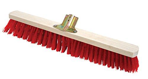 Leborgne 157170 Balai pvc-60cm sans Manche, Rouge