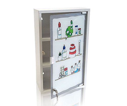 First Aid Medicine Cabinet by Multistore 2002