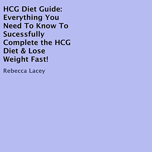 HCG Diet Guide audiobook cover art