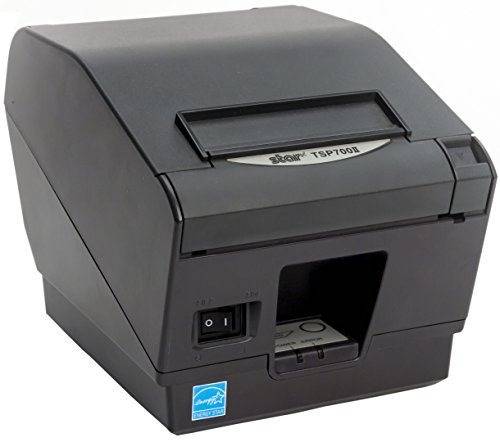 Star Micronics TSP743IIU USB Thermal Receipt Printer with Auto-cutter - Gray
