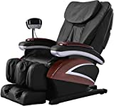 Full Body Electric Shiatsu Massage Chair Recliner with Built-in Heat Therapy Air Massage System...