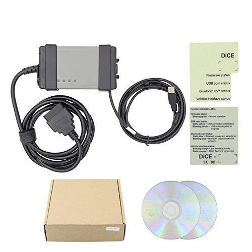 Carryoo Kfz-Fehlercodeleser - Telefon zurücksetzen, OBD-II-Scanner, OBD-II-Anschluss, Kfz-Fehlercodeleser for Bauchmuskeln, Unterstützung Volvo VIDA DICE 2014D-Kfz-Diagnosescanner