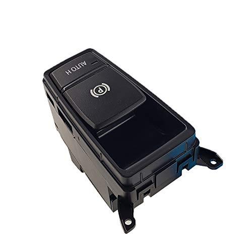 KUANGQIANWEI Botón de Interruptor de Control de Freno de estacionamiento Ajuste para BMW X5 E70 E71 E72 X6 Interruptor electrónico de Freno de Mano