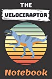THE VELOCIRAPTOR NOTEBOOK: 120 Lined page Journal ( for VELOCIRAPTOR lovers )