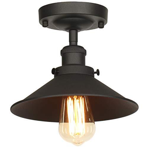 TANGSHI Umbrella Deckenleuchte Lampenschirm,Retro Deckenleuchte Industriedesign