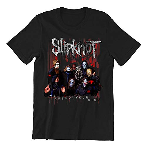 S.lipknot Official We Are Not Your Kind Red Group T-Shirt - T Shirt For Men and Woman.