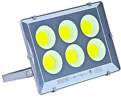 THj Proyector LED Iluminación de Seguridad para Exteriores Impermeable IP65, 500w / 600w Focos de Alta Potencia para Patio Trasero, jardín, garajes, azoteas, Patios