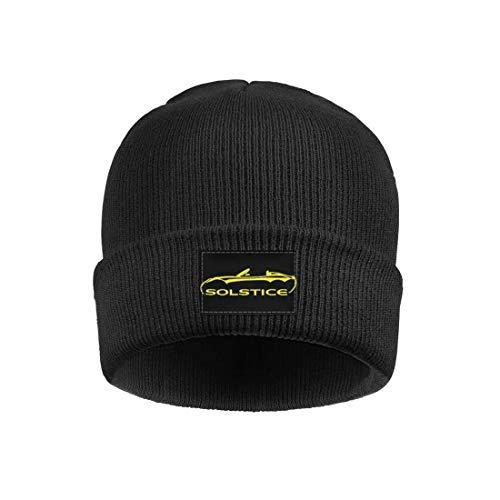 Xmbmkj Po-ntiac- So-lstice- Convertible Men Women Fine Knit Beanies Hat Stretchy Skull Cap