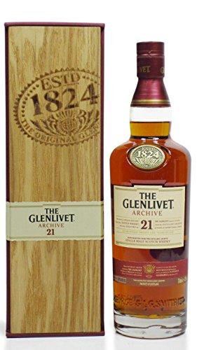 Glenlivet 21 Years Old Archive + GB 43% Vol. 0,7 l
