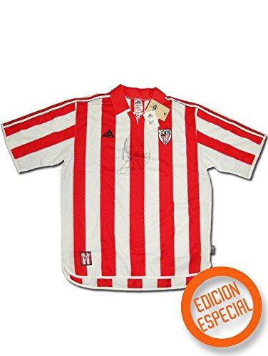 adidas - Athletic Bilbao 1ª Camiseta EDU Alonso 23 99/00 Hombre