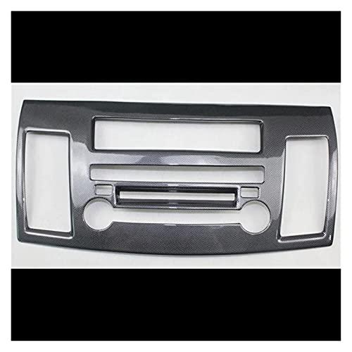 WLDZGGD para M&i-tsubishi para Lancer EX 2010-2016 1PC ABS Car Audio Facia Panel De Navegación Estéreo Tablero De Instrumentos Marco De La Cubierta Trim Protectora engomada