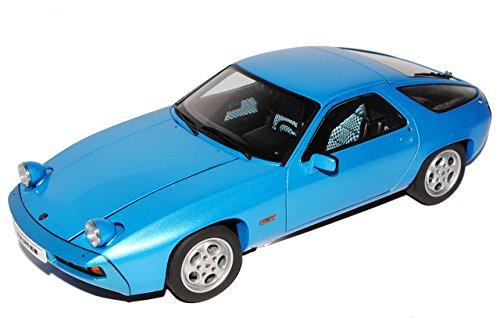 AUTOart Porsche 928 Coupe Blau 1977-1995 77901 1/18 Modell Auto