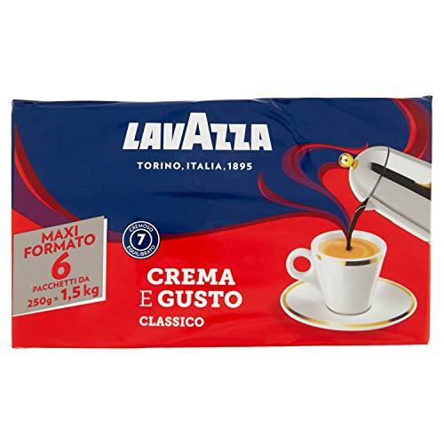 Lavazza Caffè Macinato - Pacco da 6 x 250 g