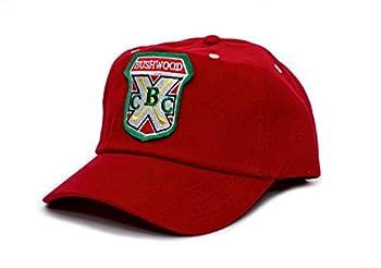 Caddyshack Bushwood Hat Country Club Movie One Size Baseball Cap Red
