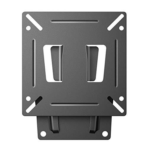 MODERN LIFE Soporte de Pared para TV 15-26 Pulgadas(38-66cm), Fijo, Máx Vesa 100x100, Carga 20KG(44lbs), para Televisores de Pantalla Plana(LED LCD Plasma 4K 3D)