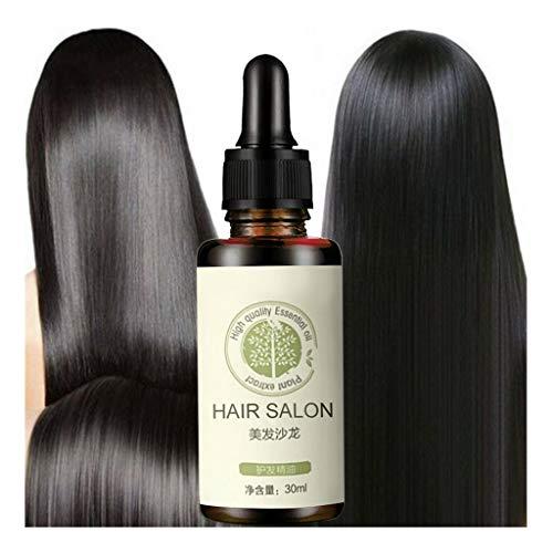 Dinglong Huile Essentielle Oil,Hair Care Essential Oil,Huile Essentielle pour Les Cheveux,Extrait de Plante Soins capillaires Huile Essentielle Réparation de Cheveux abîmés Nourrissant Revitalisant