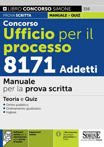 Concorso Ufficio per il Processo 8171 Addetti – Manuale per la prova scritta