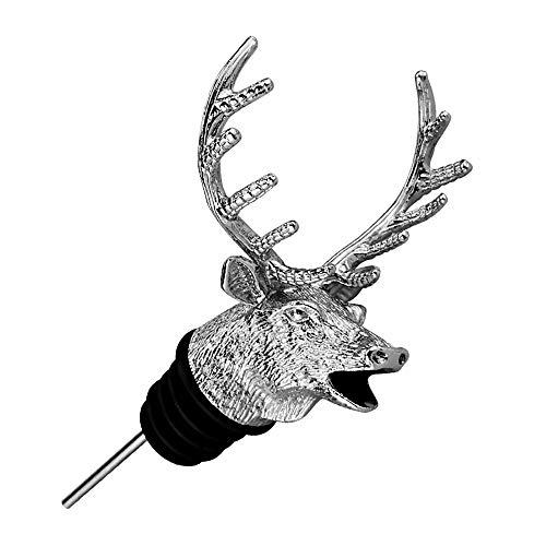 Eco Memos Aerador de Vinos Elk Forma Tinto Vino Aeroador Decantador en Segundos para Vino Tinto- Decantador de la Boca de Vino Profesional