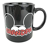 Disney Family Fan Mickey and Minnie Mouse Jumbo 20 Ounce Coffee Mug (Grandpa)