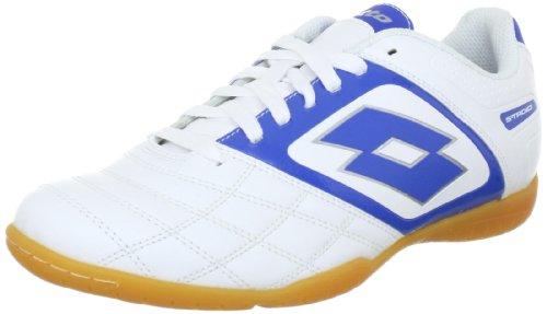 Lotto Sport STADIO POTENZA II 700 ID Q1284, Herren Sportschuhe - Fußball, Weiss (WHITE/BLUE), EU 45 (US 11.5)