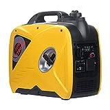 TGHY 2000W Grupo Electrógeno a Gasolina Equipo de Energía de 220V Ultra Silencioso y Liviano con Modo Ecológico para Emergencias Respaldo Uso Doméstico