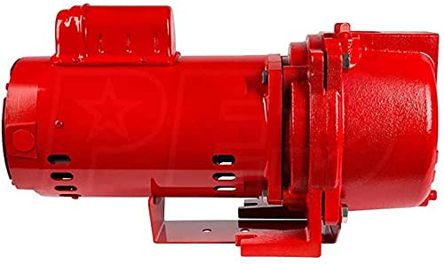 Red Lion 97101501 RL-SPRK150 44 PSI Cast Iron Self-Priming Lawn Sprinkler Pump for Residential and Commercial Sprinkling Systems
