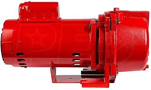 Red Lion 97101501 RL-SPRK150 44 PSI Cast Iron Self-Priming Lawn Sprinkler Pump for...