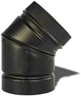 SELKIRK Corp DSP6E4-1 Smoke Pipe/45DEG Elbow, 6-Inch