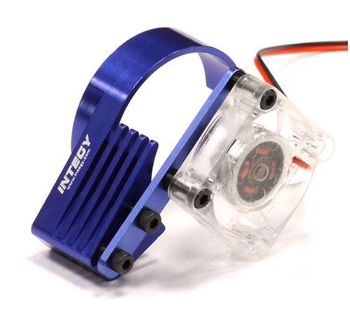 Integy RC Model Hop-ups C23765BLUE High Efficiency Motor Cooling Fan + Heatsink for 540 & 550 Size Motor