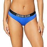 Calvin Klein Hipster-HR Bikini, Azul De Amparo, M para Mujer