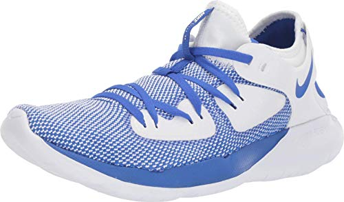 Nike Men's Flex 2019 Rn Blue/White Running Shoes-9 UK (44 EU) (10 US) (AQ7483-401)