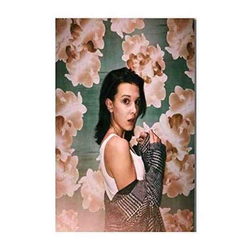 DrCor Millie Barbie Brown Poster Canvas Art Posters and Prints Lienzo Pinturas en la Pared Imágenes artísticas Decoración -50x70 cm Sin Marco 1Pcs